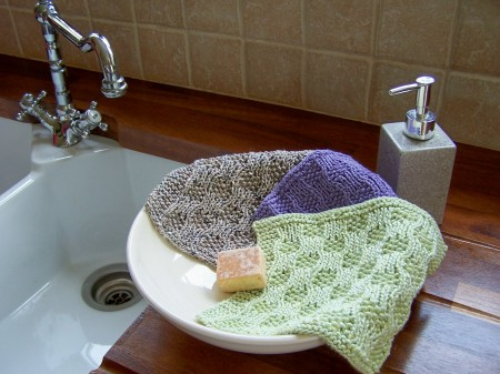 The Humble Facecloth – a free pattern