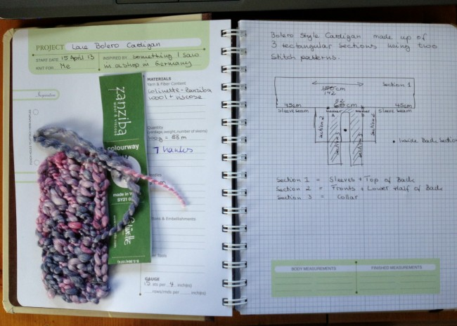 Knit Notes 1