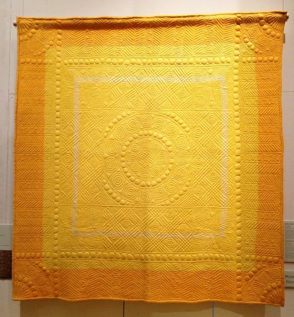 Golden Yellow Quilt