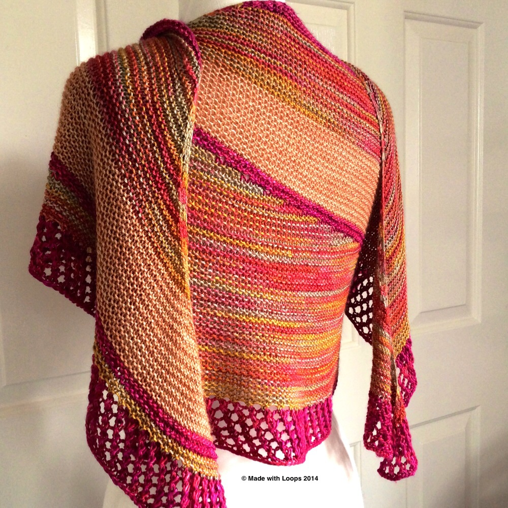 Sorbetto Shawl