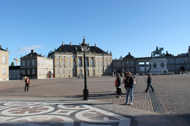 Amalienborg Slot - Castle Amalienborg