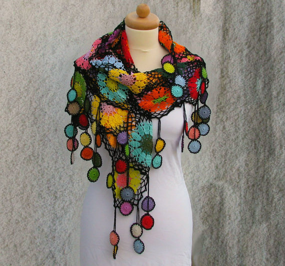 Biljana Kovale Wrap - purchase in her Etsy shop
