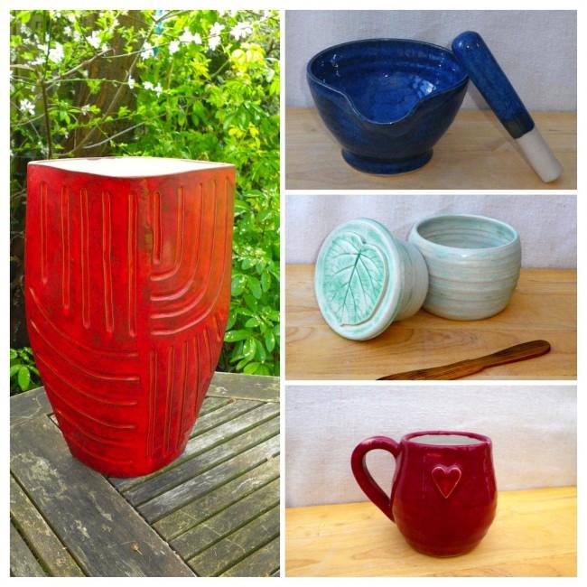 Caractacus Pots Collage