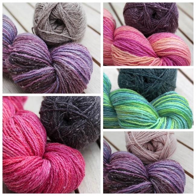 Sorbetto Colours Collage