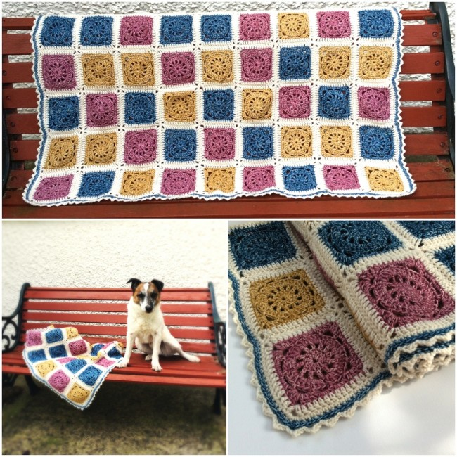 the story of a blanket – the big ta-dah