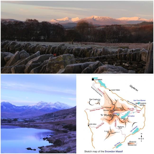 Snowdon Collage 1