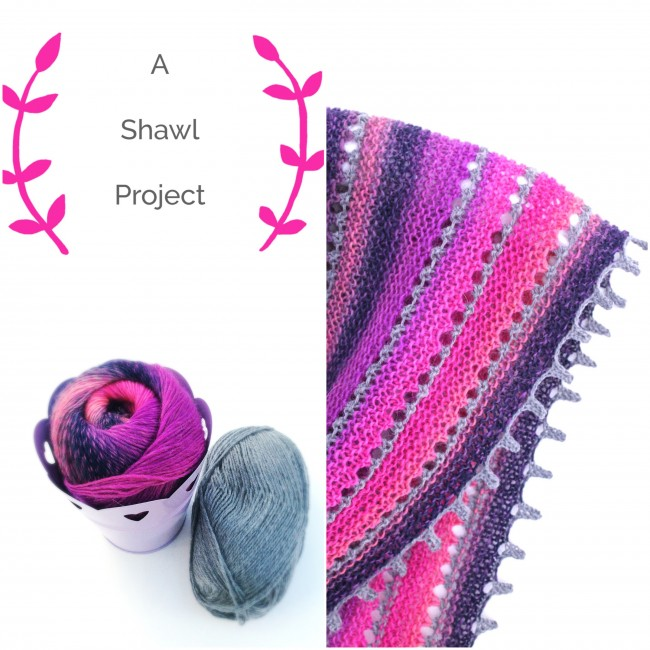 spring shawl – the pattern