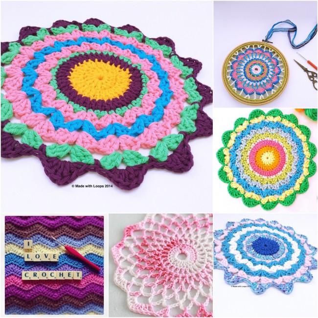 #crochet #mandalasforwink #madewithloops