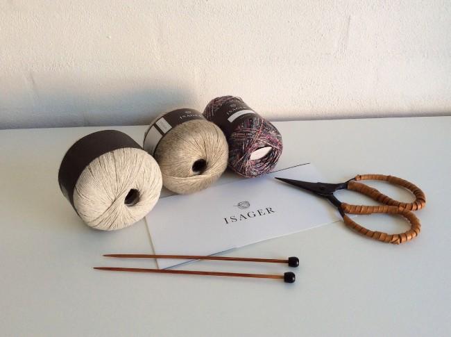 #isager #knitting #viscolin #palet #madewithloops