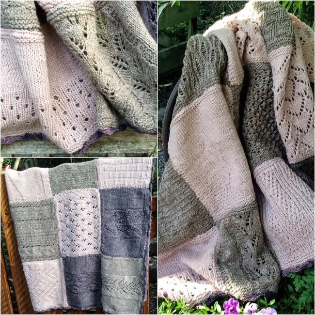 #knitalong #blanket #isager #madewithloops