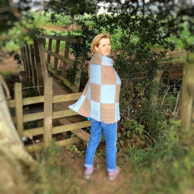 #knitalong #isager #blanket #madewithloops