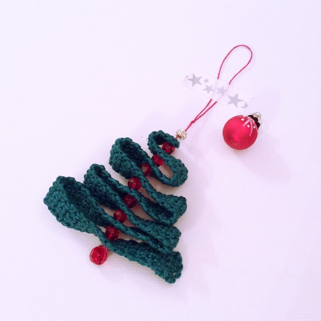 #crochet christmas tree #decoration #madewithloops