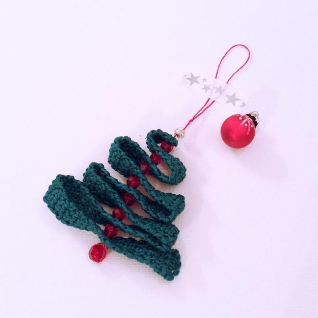 #crochet christmas tree #decoration #madewithloops
