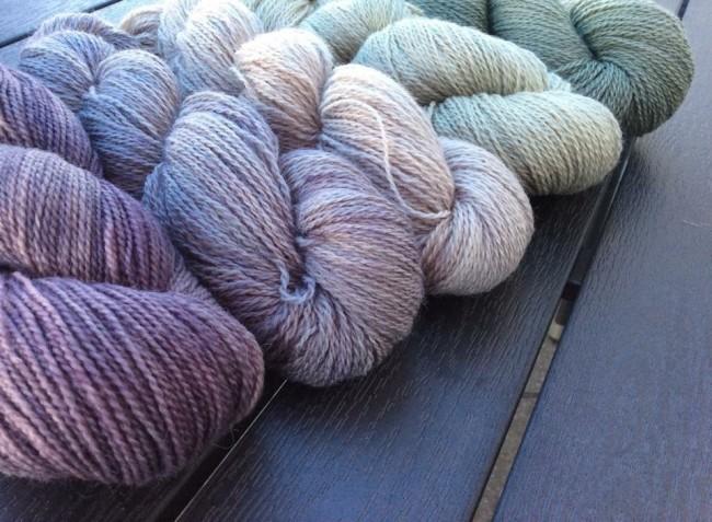 #hand dyed yarn #isager #wollsinn #madewithloops