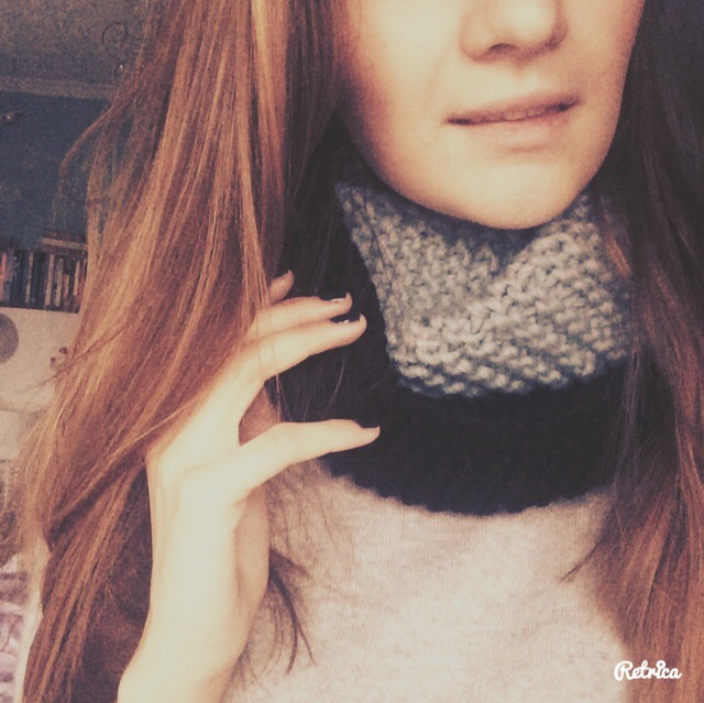 #knitted cowl #madewithloops