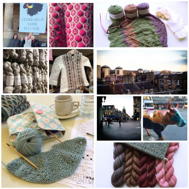 postcards from edinburgh yarn festival