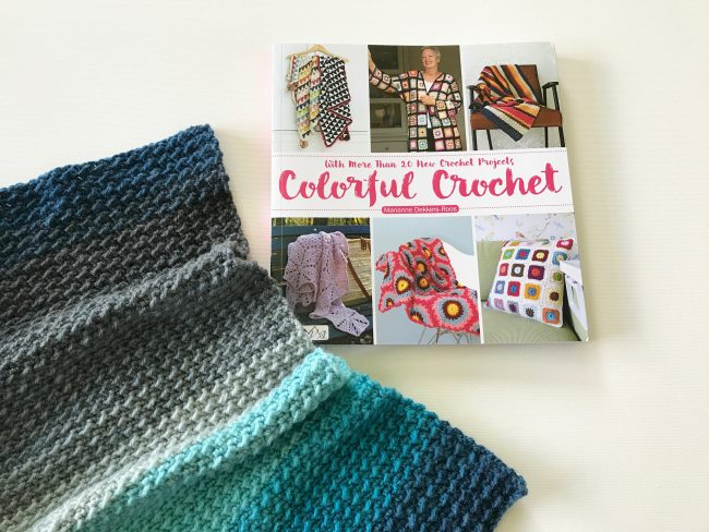 colourful crochet – a book review and project ingrid