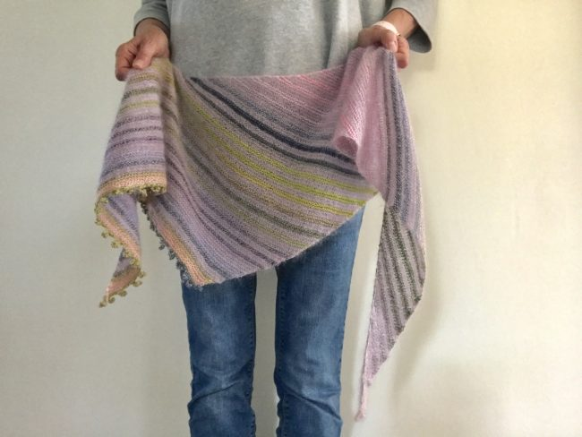 #cloud shawl #knitting #madewithloops.co.uk