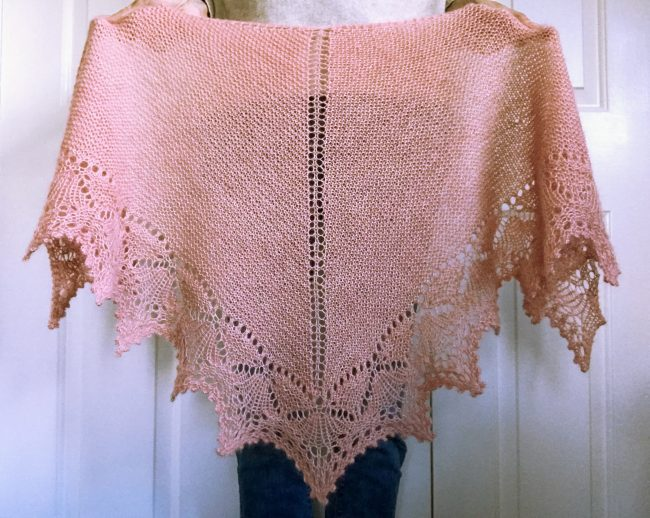 new pattern release – kyoto shawl