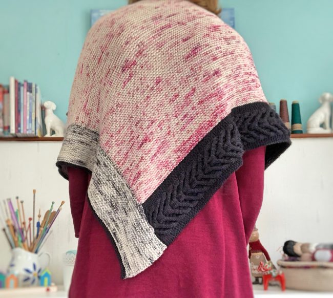 #madewithloops.co.uk #threethousandmilesshawl