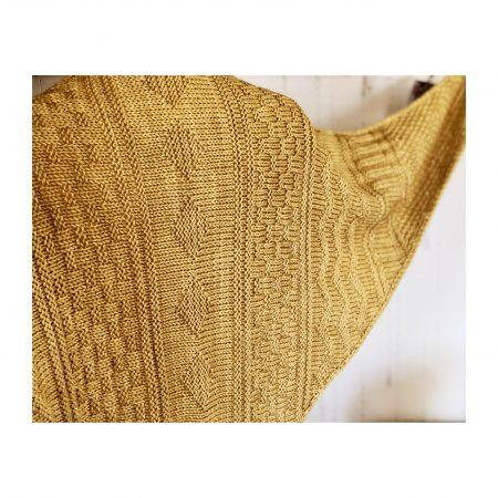 Friesland – a gansey shawl