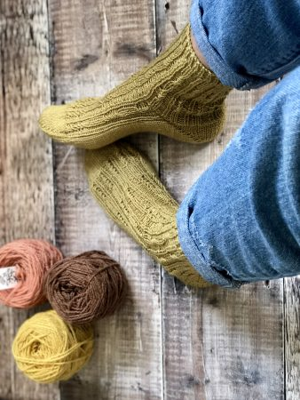 Staffin Socks – a new pattern