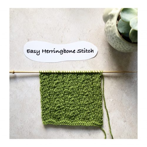 Stitches – Week 2 – Herringbone