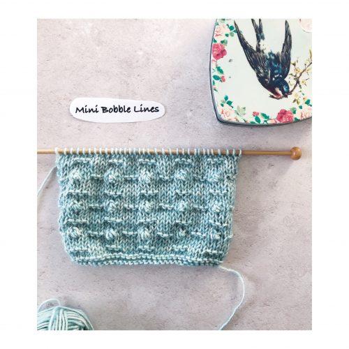 Stitches – Week 11 – Mini Bobble Lines